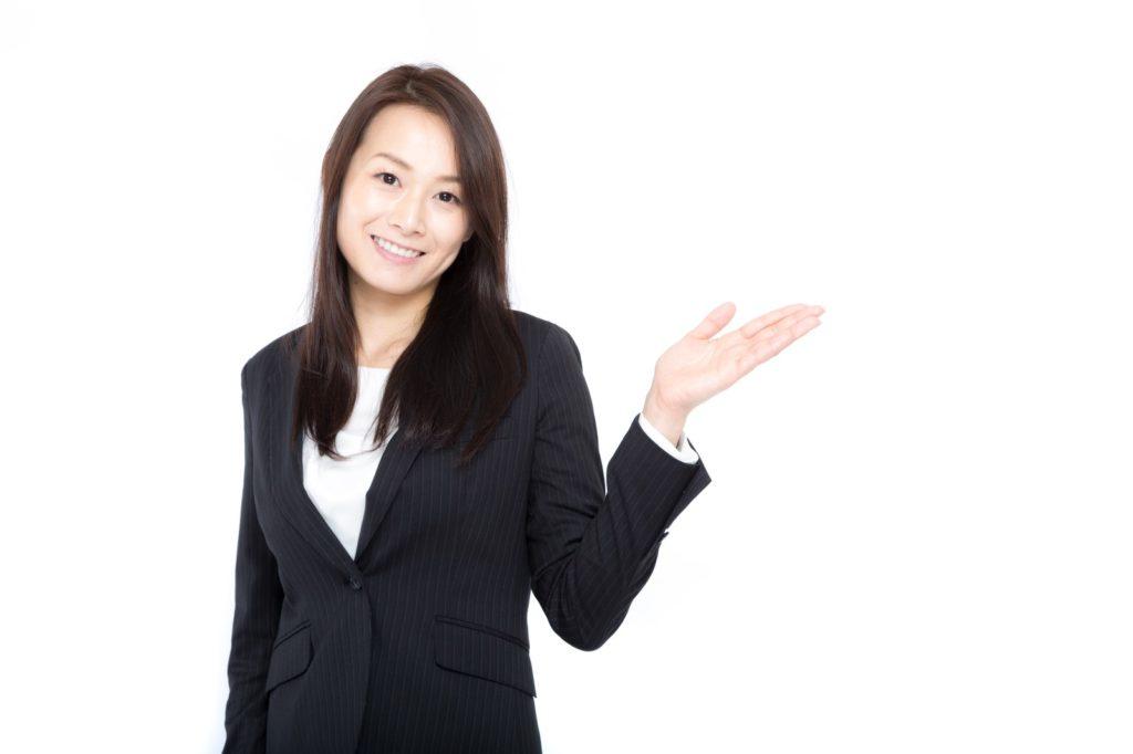 業者の女性