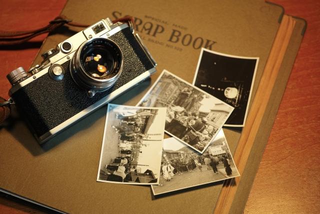 思い出のアルバム、写真の画像